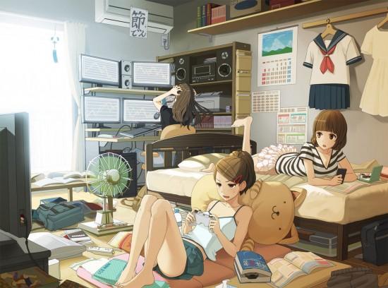 可愛い,ゲーム,女子,虹,画像,まとめ012