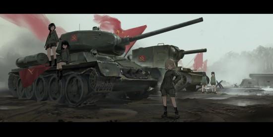 ガルパン,カッコイイ,戦車,画像,まとめ001