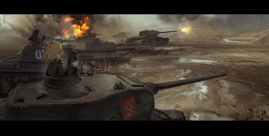 ガルパン,カッコイイ,戦車,画像,まとめ002