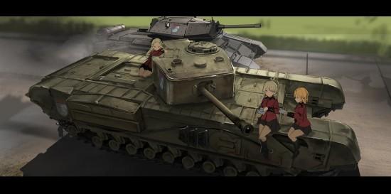 ガルパン,カッコイイ,戦車,画像,まとめ003