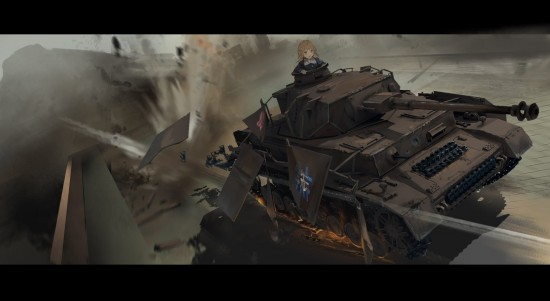 ガルパン,カッコイイ,戦車,画像,まとめ004