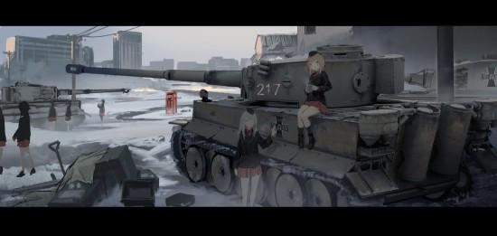 ガルパン,カッコイイ,戦車,画像,まとめ006