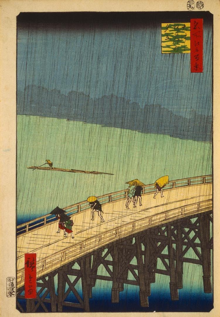 日本文化,浮世絵,日本画,画像,貼っていく